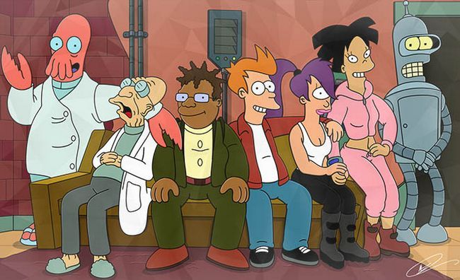 Temporada de Futurama fecha 8 de liberación Photo