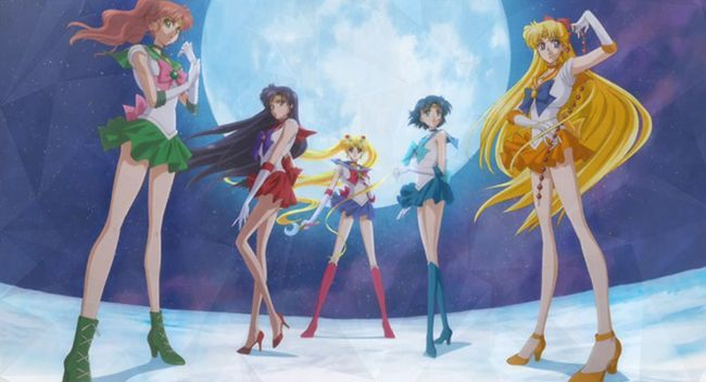 Temporada de cristal Sailor moon fecha 2 de liberación Photo