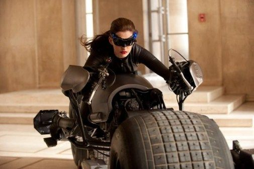 The Dark Knight Rises Anne Hathaway como Catwoman
