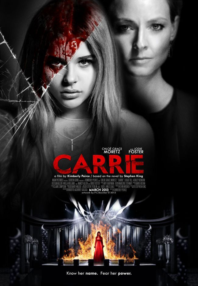 carrie_2013 ___ theatrical_poster_by_themadbutcher-d4yjd63
