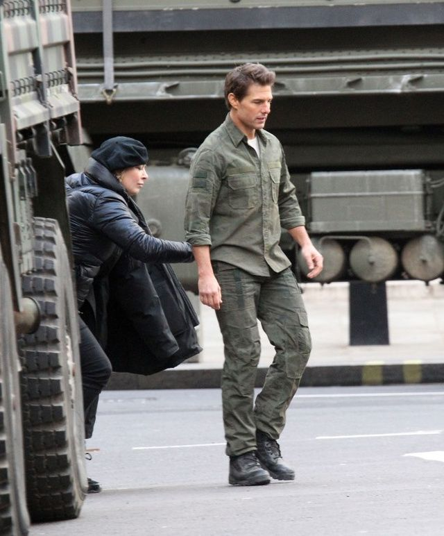 'All You Need Is Kill' - Film Set