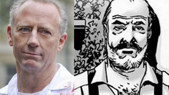 Xander Berkeley elegida como Gregory en la estación muerta que camina 6 Photo